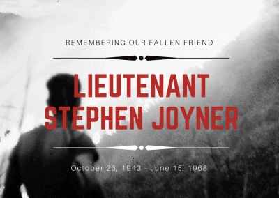 Remembering Stephen Joyner
